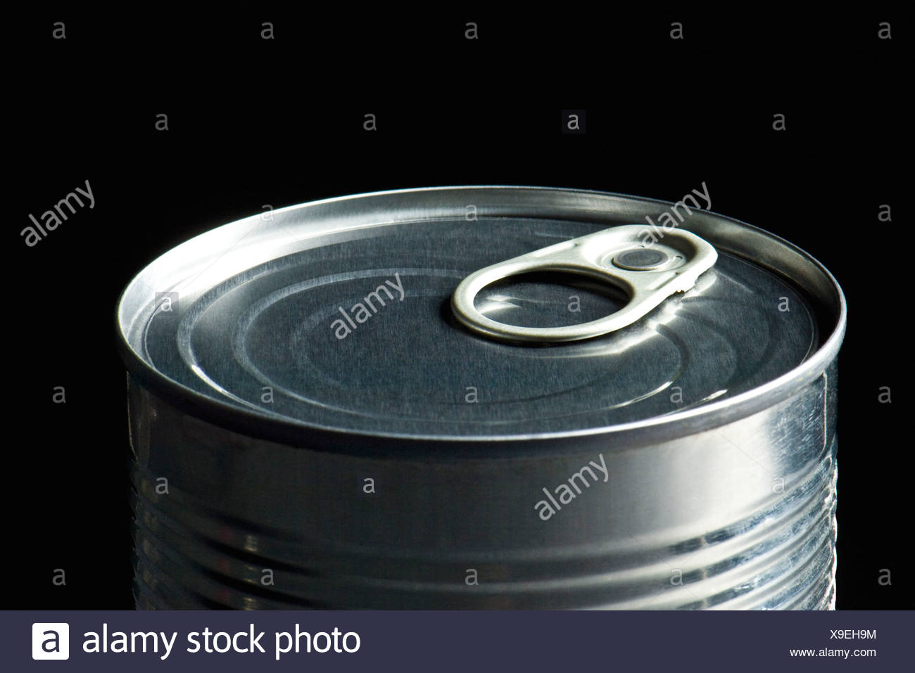Can of food - Stock Image