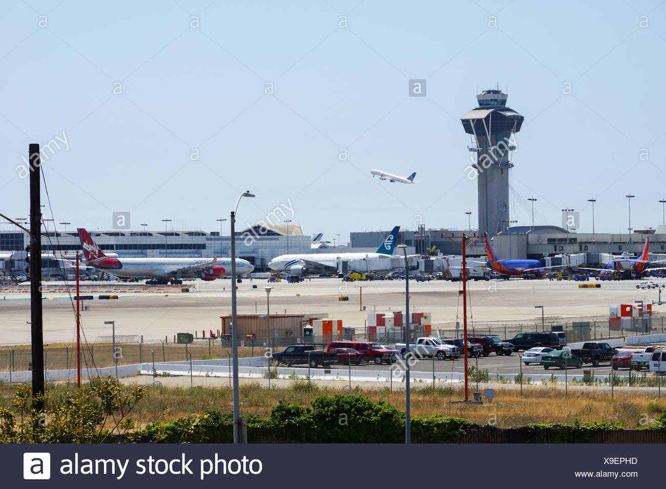 Los Angeles Airport LAX - Stock Image