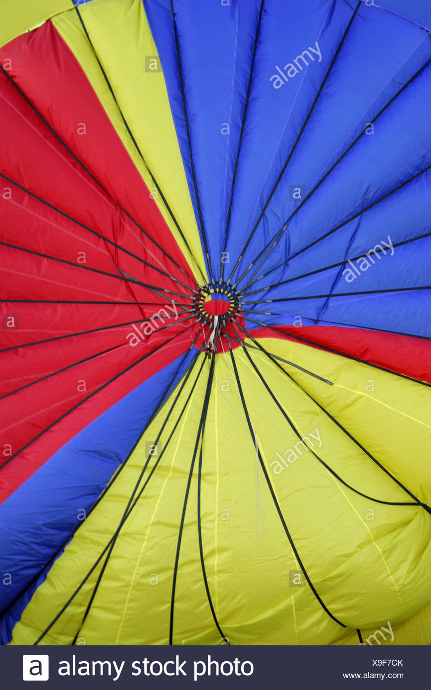 Hot Air Balloon Cover Germany Stock Photo Alamy
