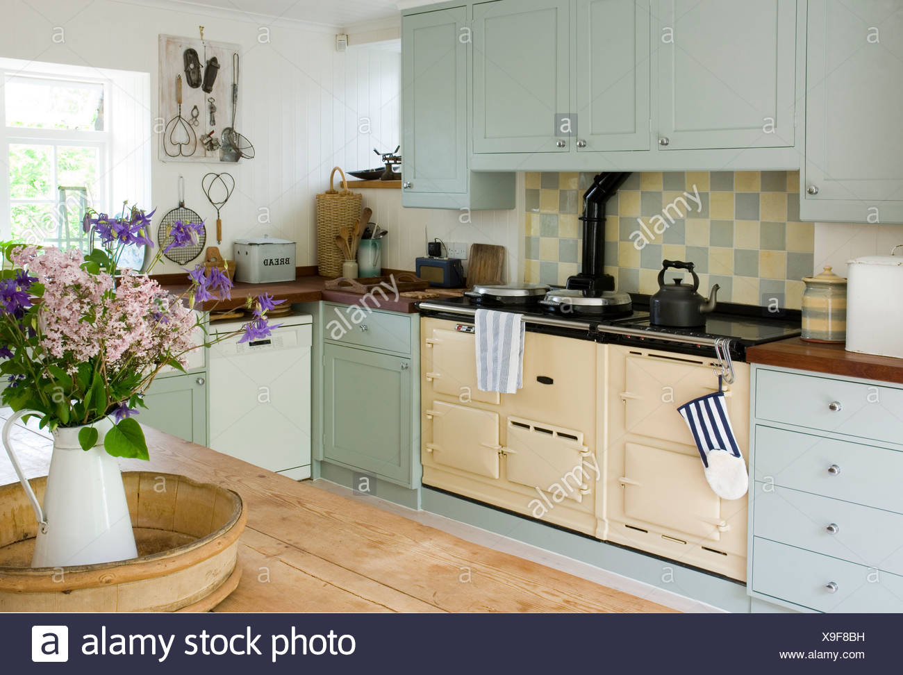 Old Fashioned Stove In Kitchen