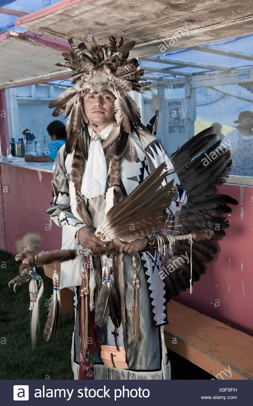 Vernon Suppah, Warm Springs Pow Wow,Oregon,USA - Stock Image