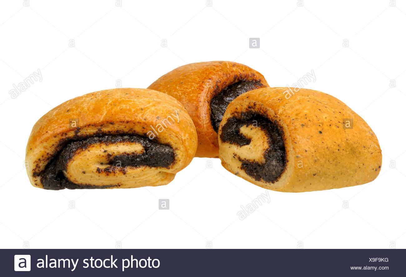 home made buns - Stock Image
