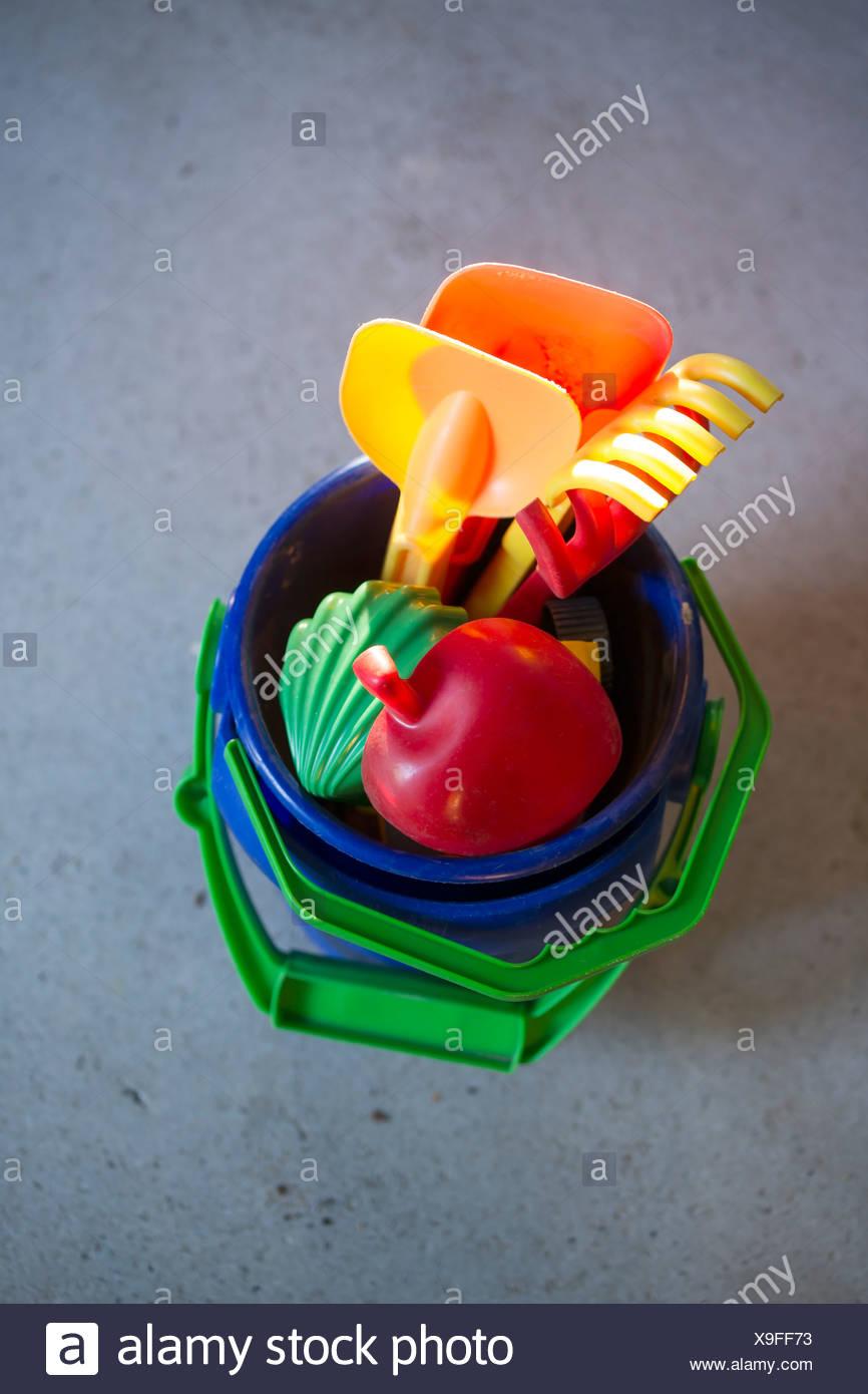 Sandbox toy - Stock Image