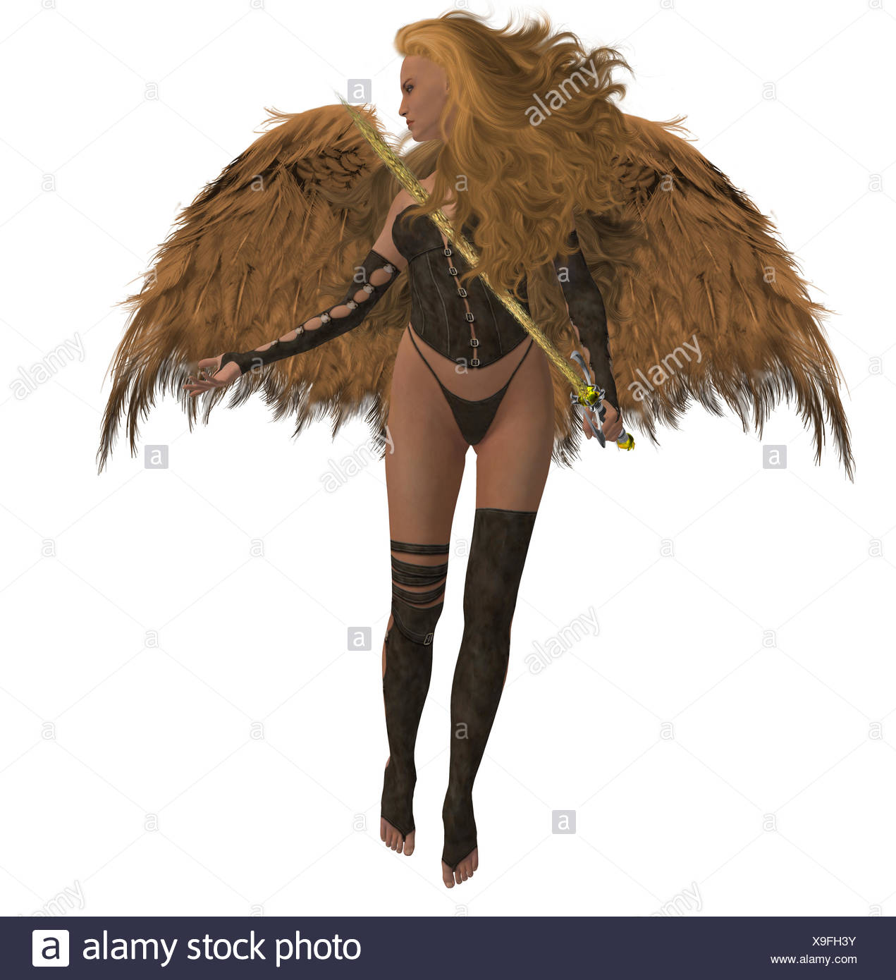 Arch Angel Offering Help - Stock Image
