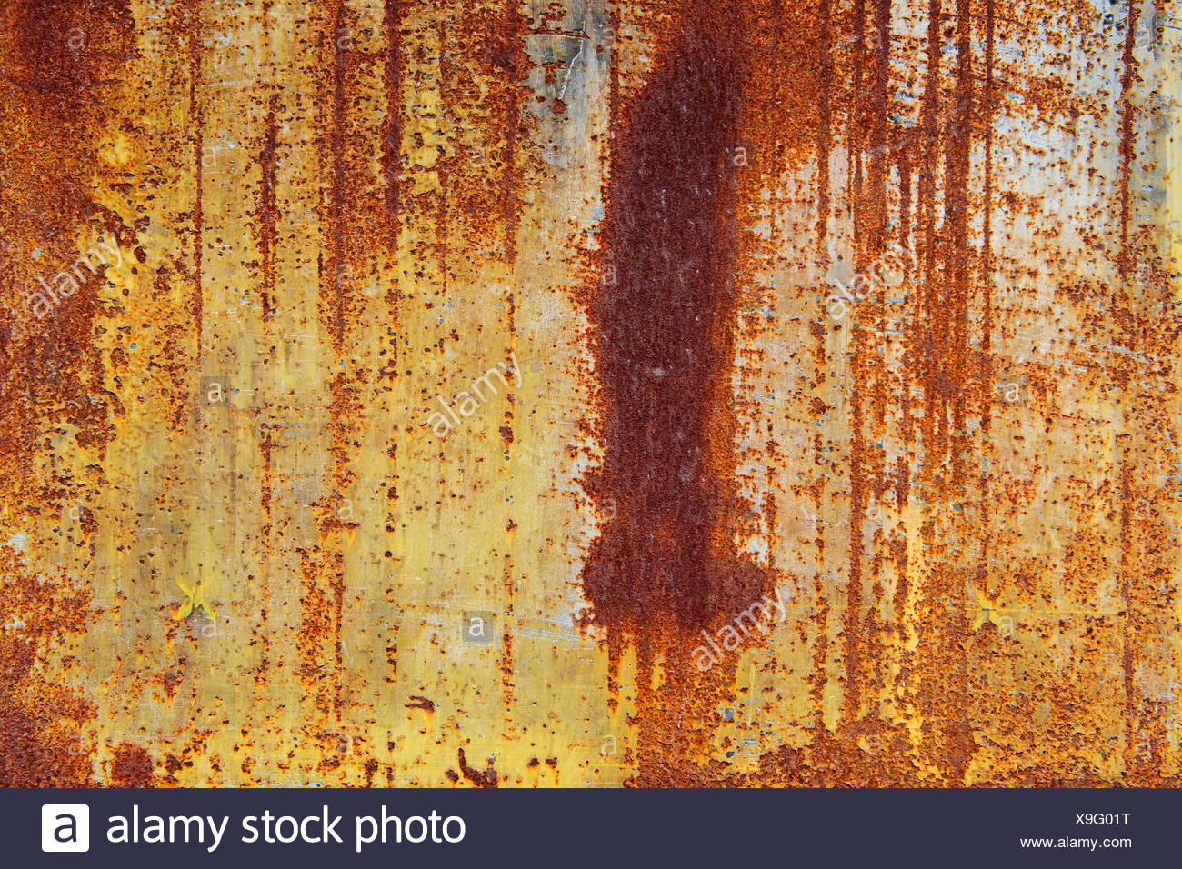 A wooden surface - Stock Image