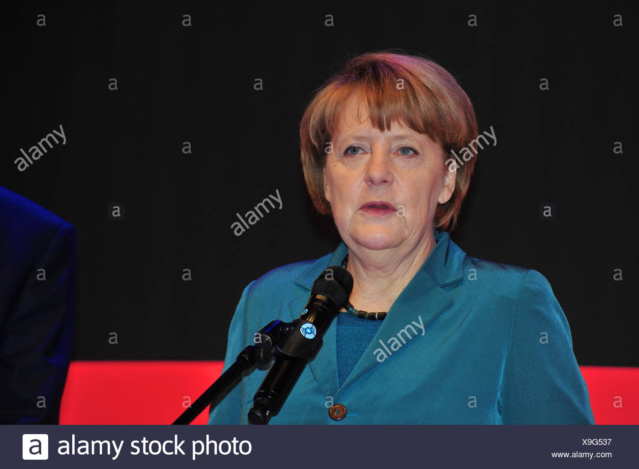 Kanzlerin Angela Merkel - Stock Image