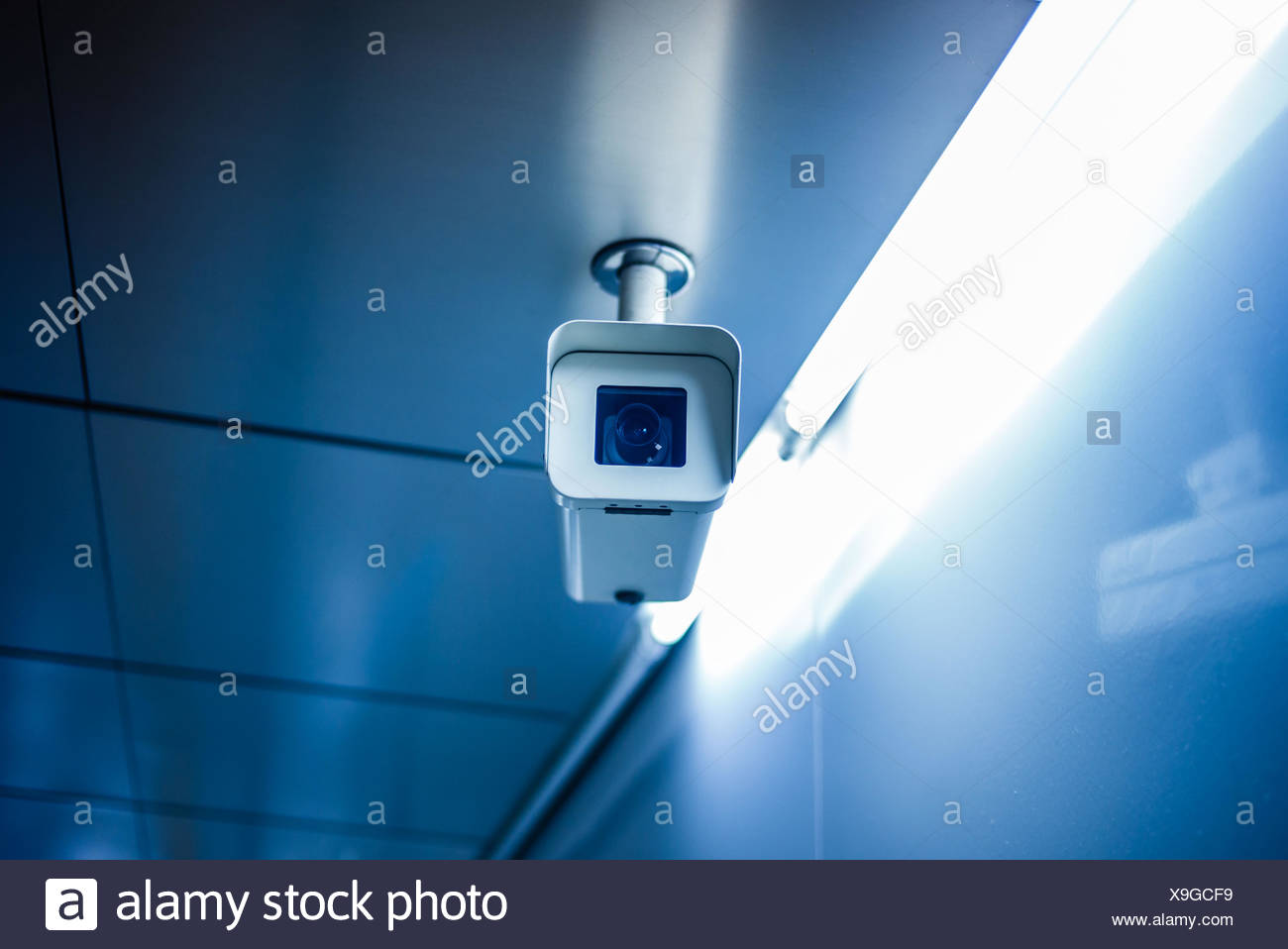 Surveillance camera. - Stock Image