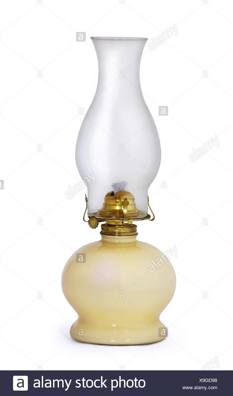 Kerosene lamp - Stock Image
