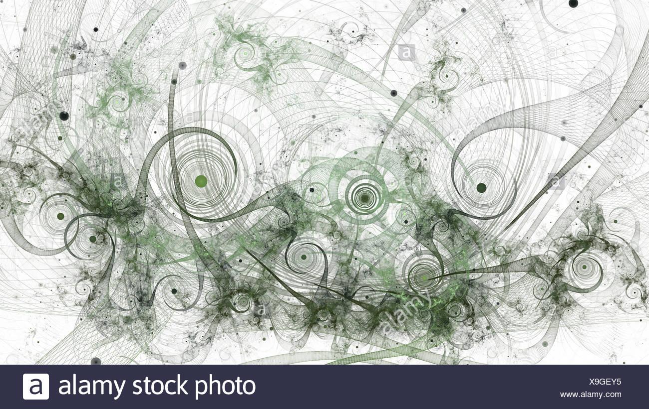 Fractal chaos - Stock Image