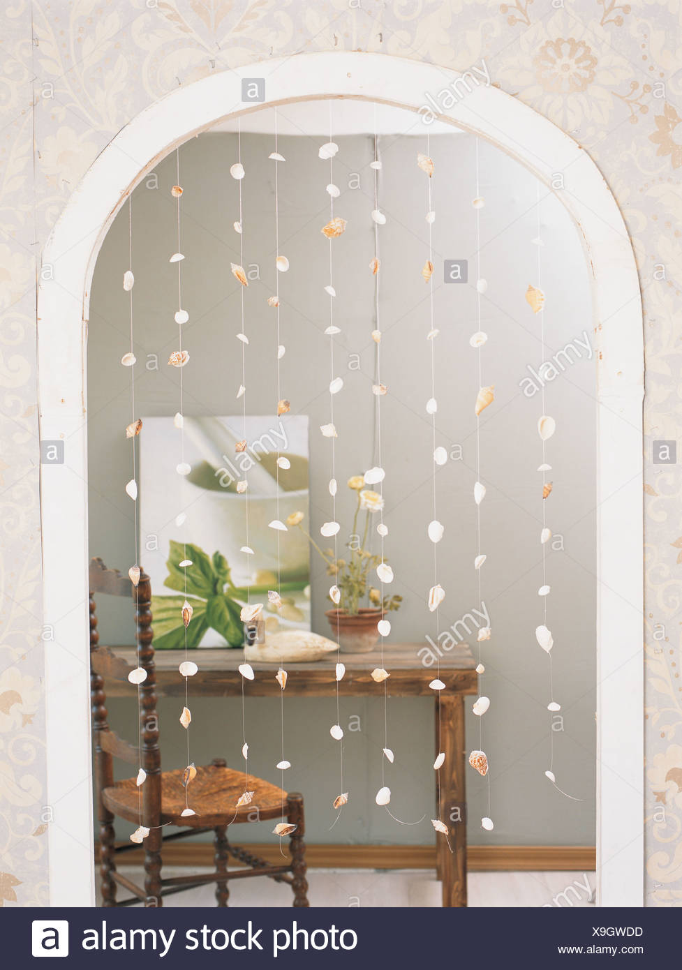 The interior decoration article - Stock Image