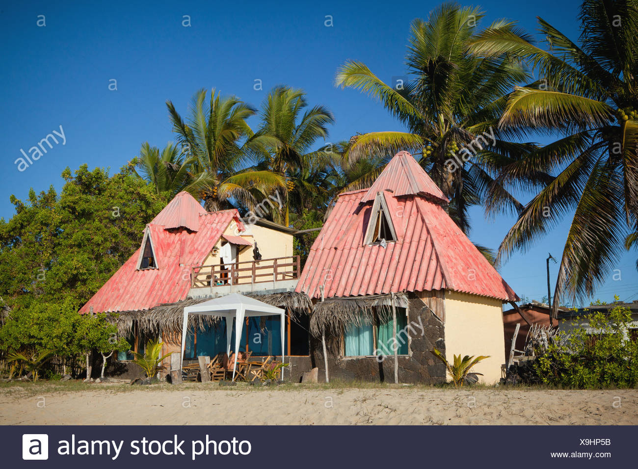 Beach House Galapagos Islands Stock Photo 281288375 Alamy