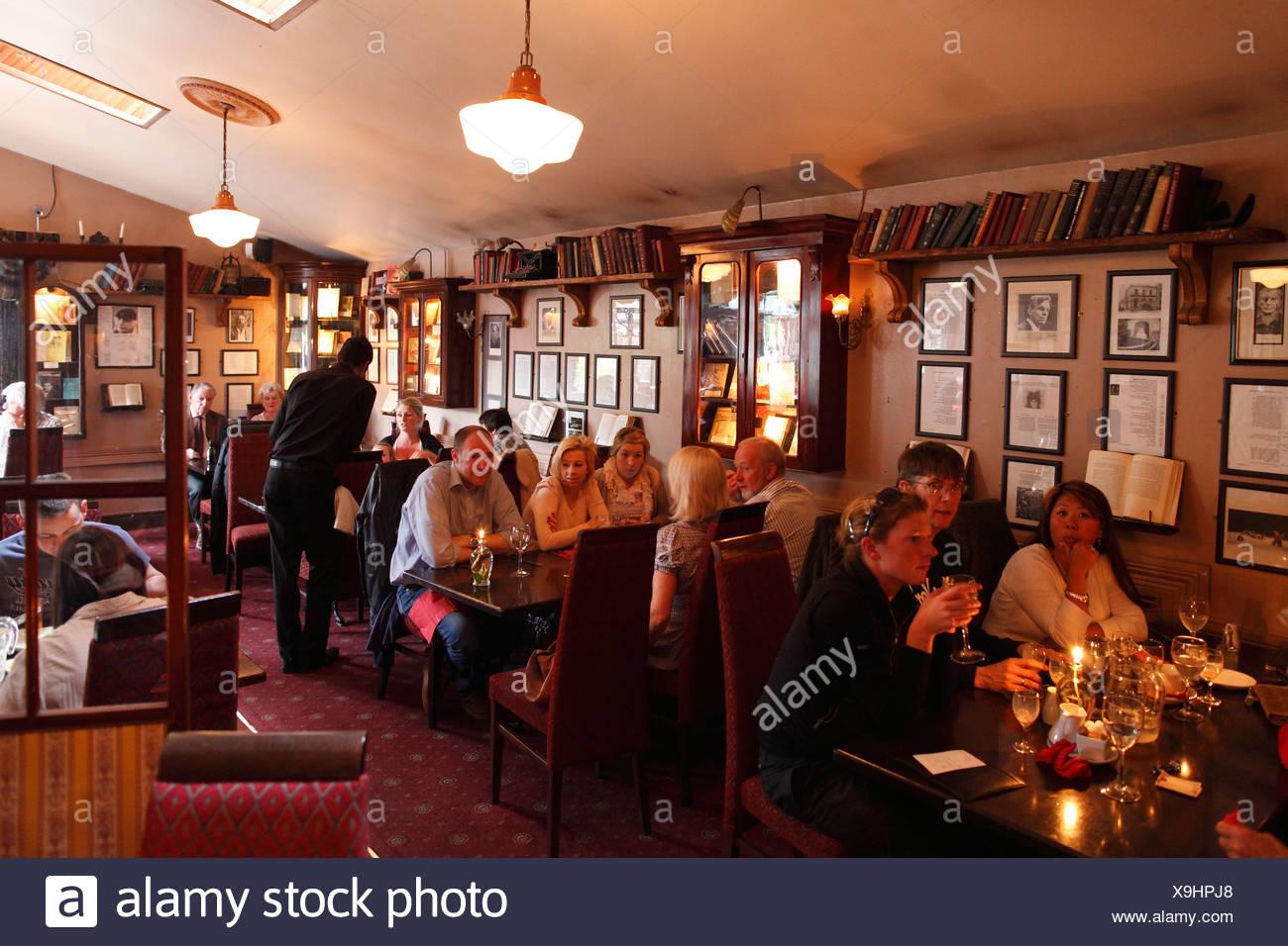 The Wicklow Heather Restaurant, Laragh, County Wicklow, Republic of Ireland, British Isles, Europe - Stock Image