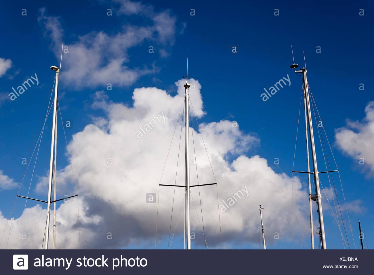 Clouds Radar Anemometer Stock Photos & Clouds Radar