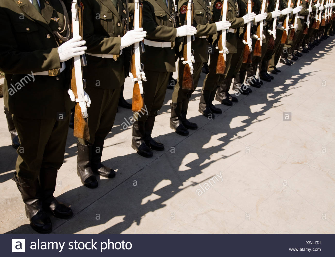 Russian army - Stock Image