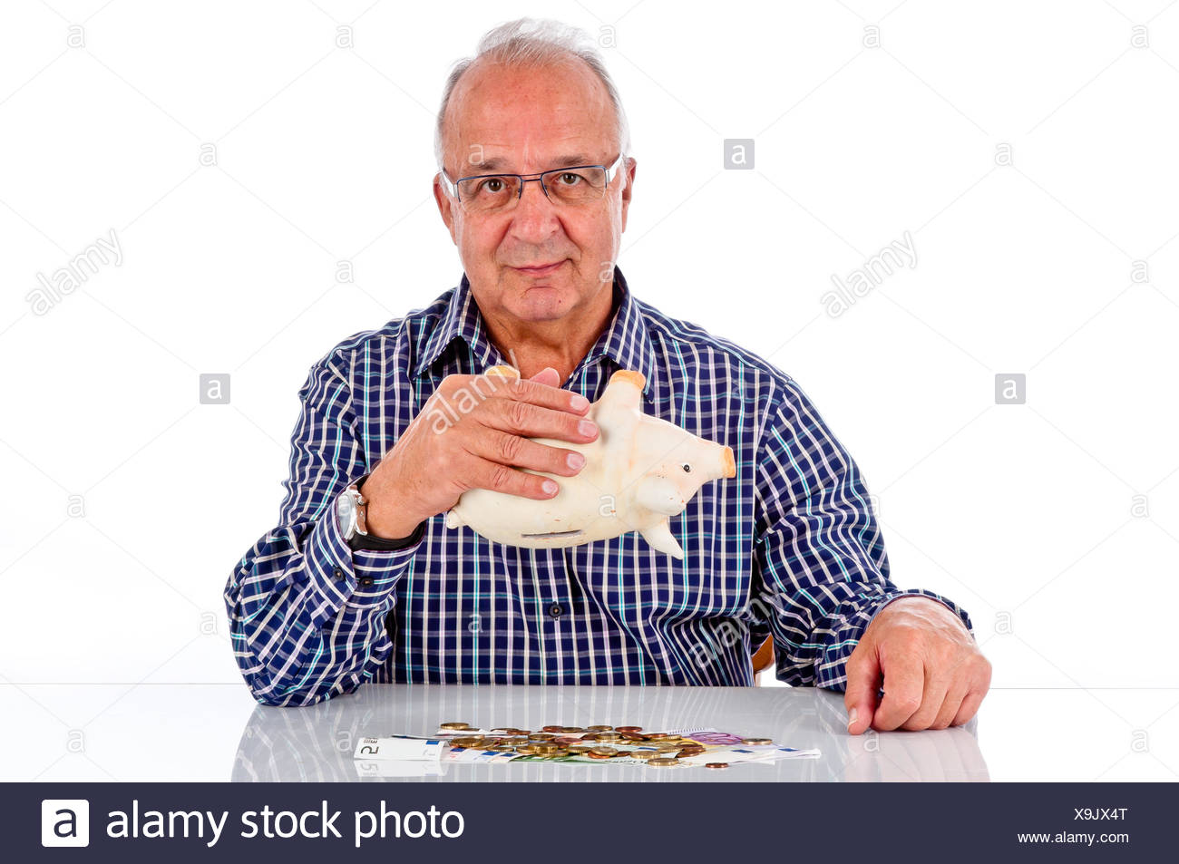 pensioner Stock Photo