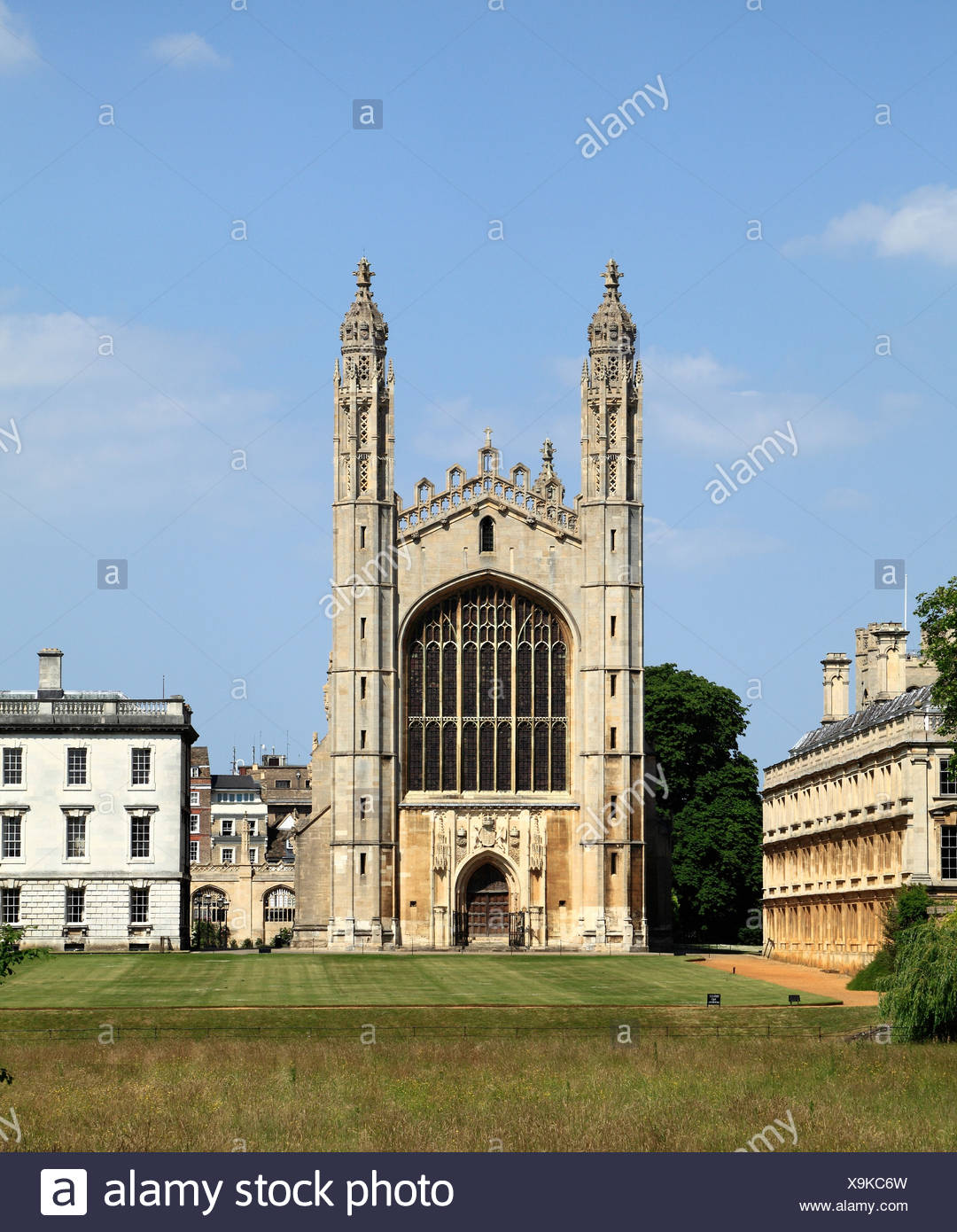 Cambridge, Kings College Chapel, University England UK English universities chapels - Stock Image