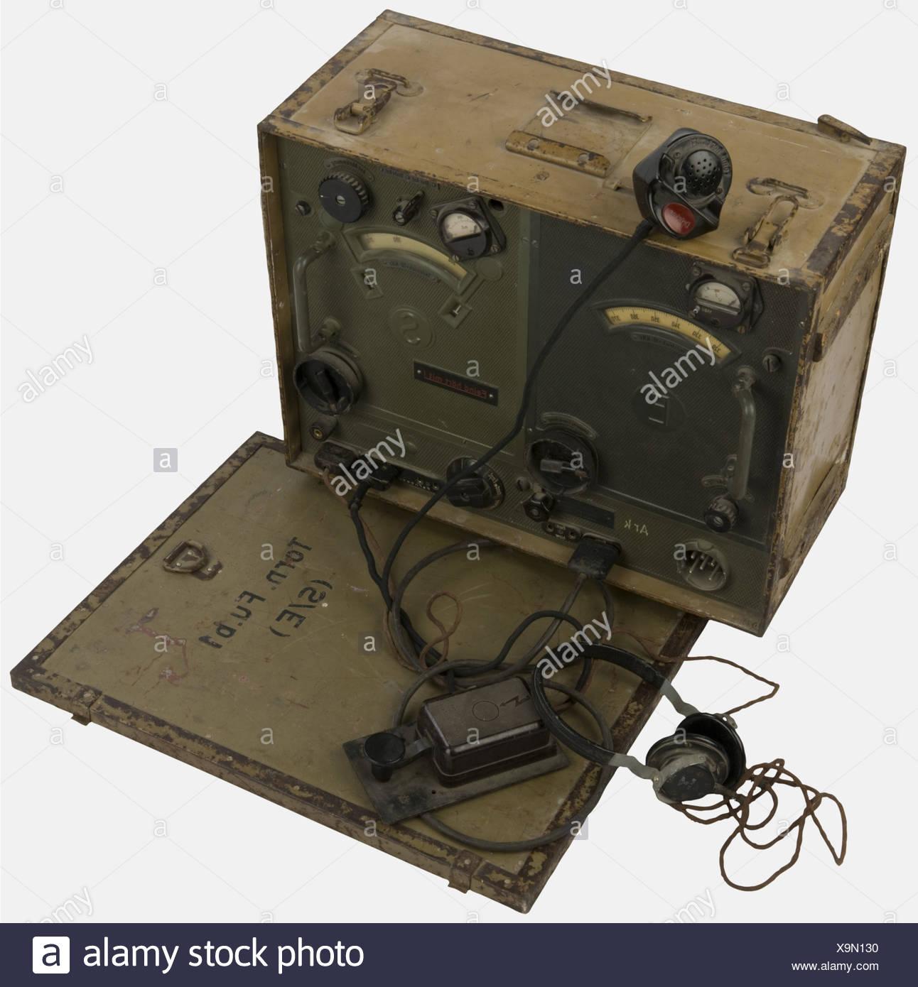 materiel technique  radio de la wehrmacht mod u00e8le  u0026quot thorn fu