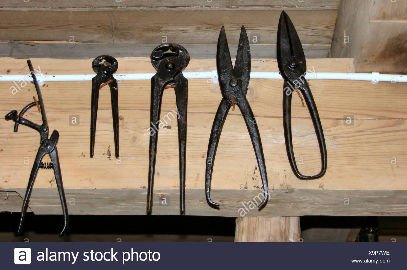 tool from ancient times - Stock Image