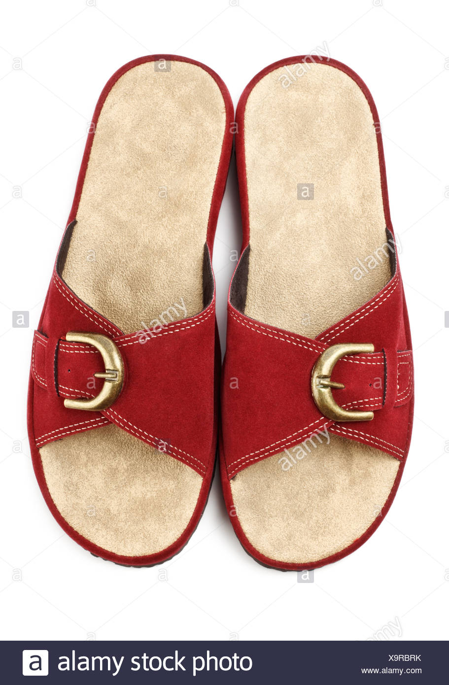 7c7176fef04 red slippers Stock Photo  281411975 - Alamy