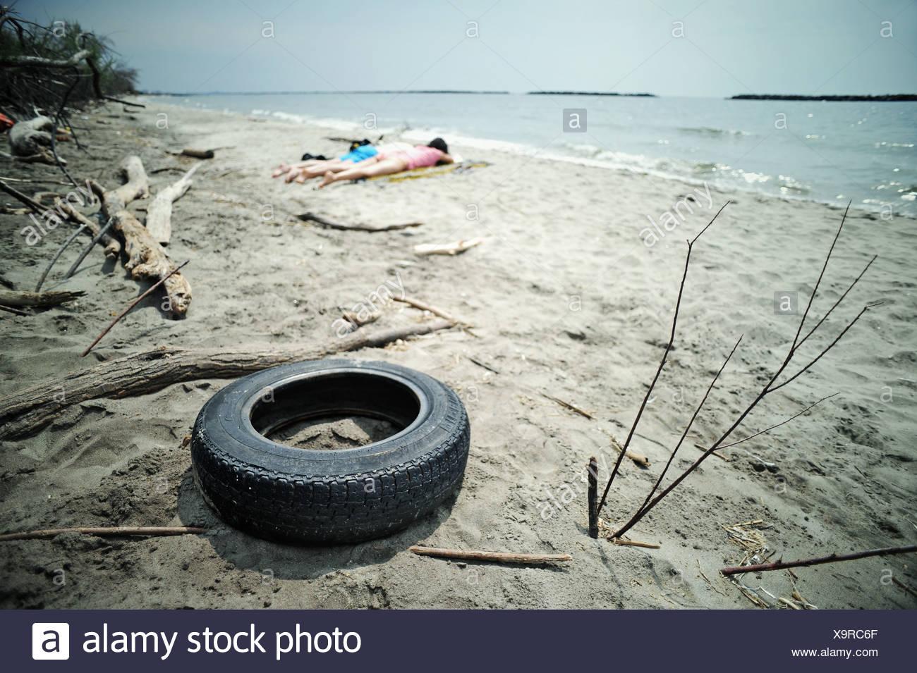 Environmental Pollution - Stock Image
