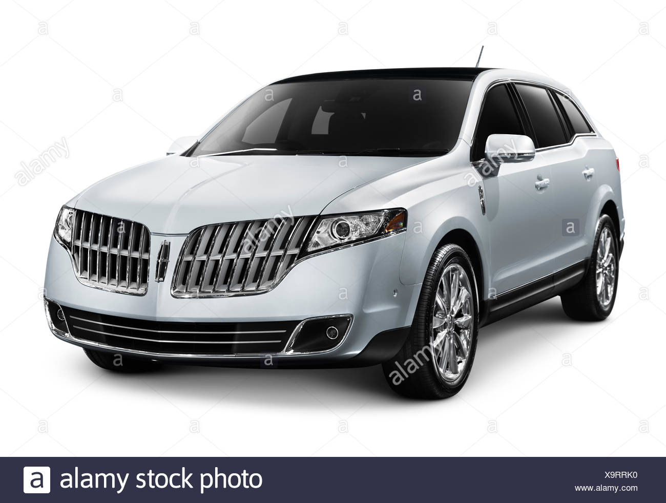 2010 Lincoln MKT luxury crossover car - Stock Image