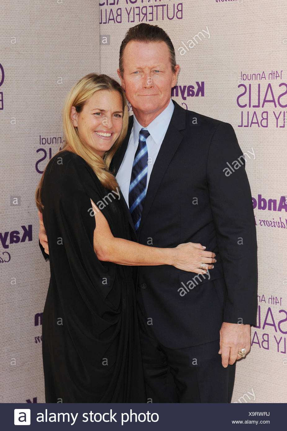 Actors Robert Patrick (L) and Barbara Patrick attend the 14th annual Chrysalis Butterfly Ball sponsored by Audi, Kayne Anderson, Lauren B. Beauty and Z Gallerie on June 6, 2015 in Los Angeles, California., Additional-Rights-Clearances-NA - Stock Image