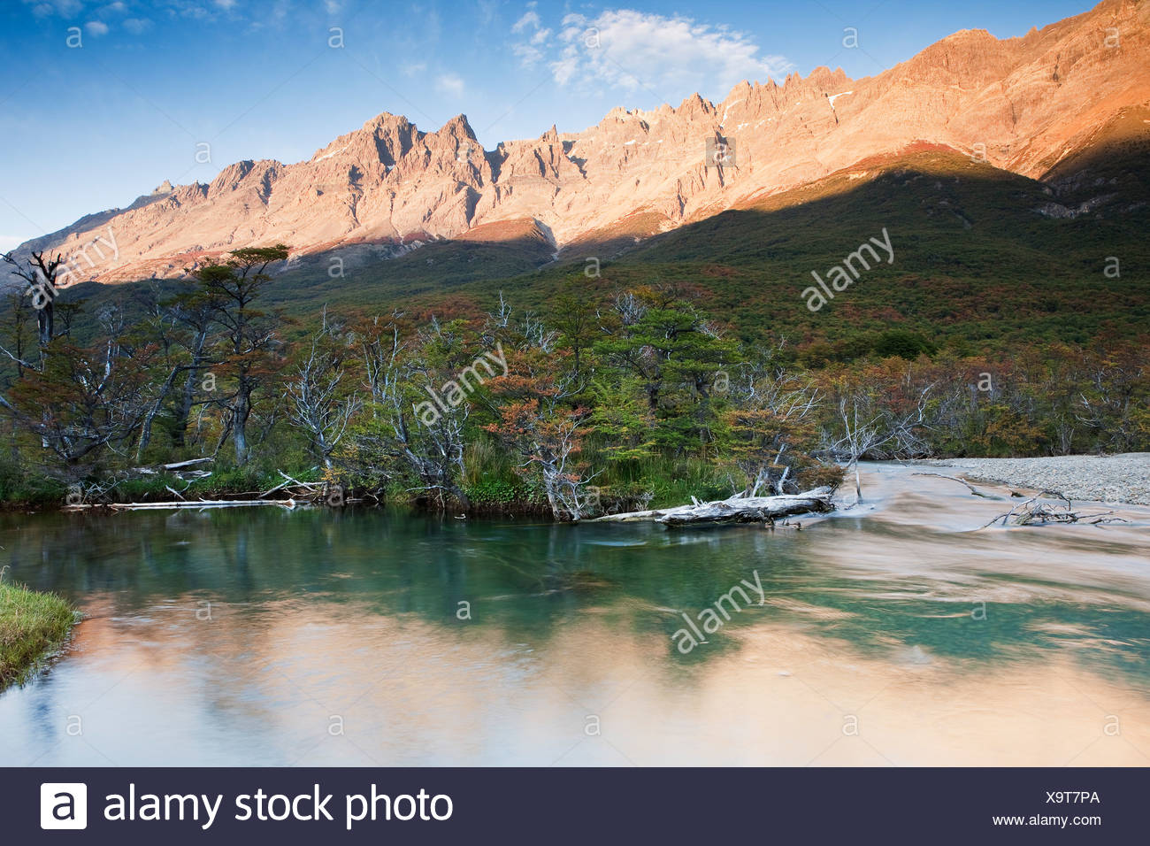 Los Glaciares National Park, Patagonia, South America - Stock Image
