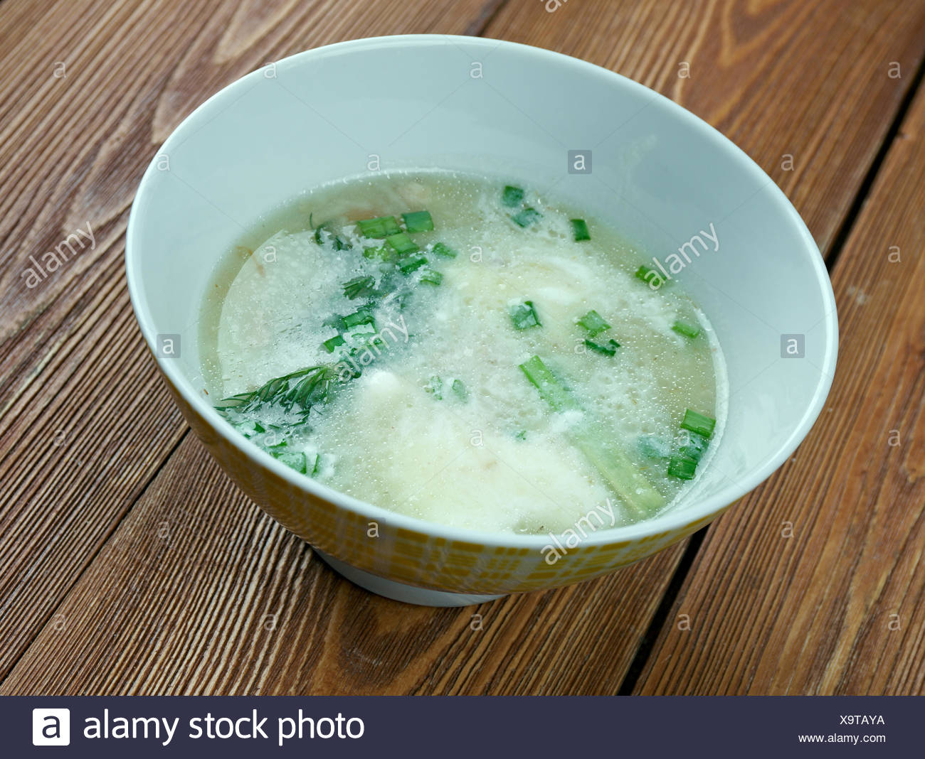Sauer Suppe - Stock Image