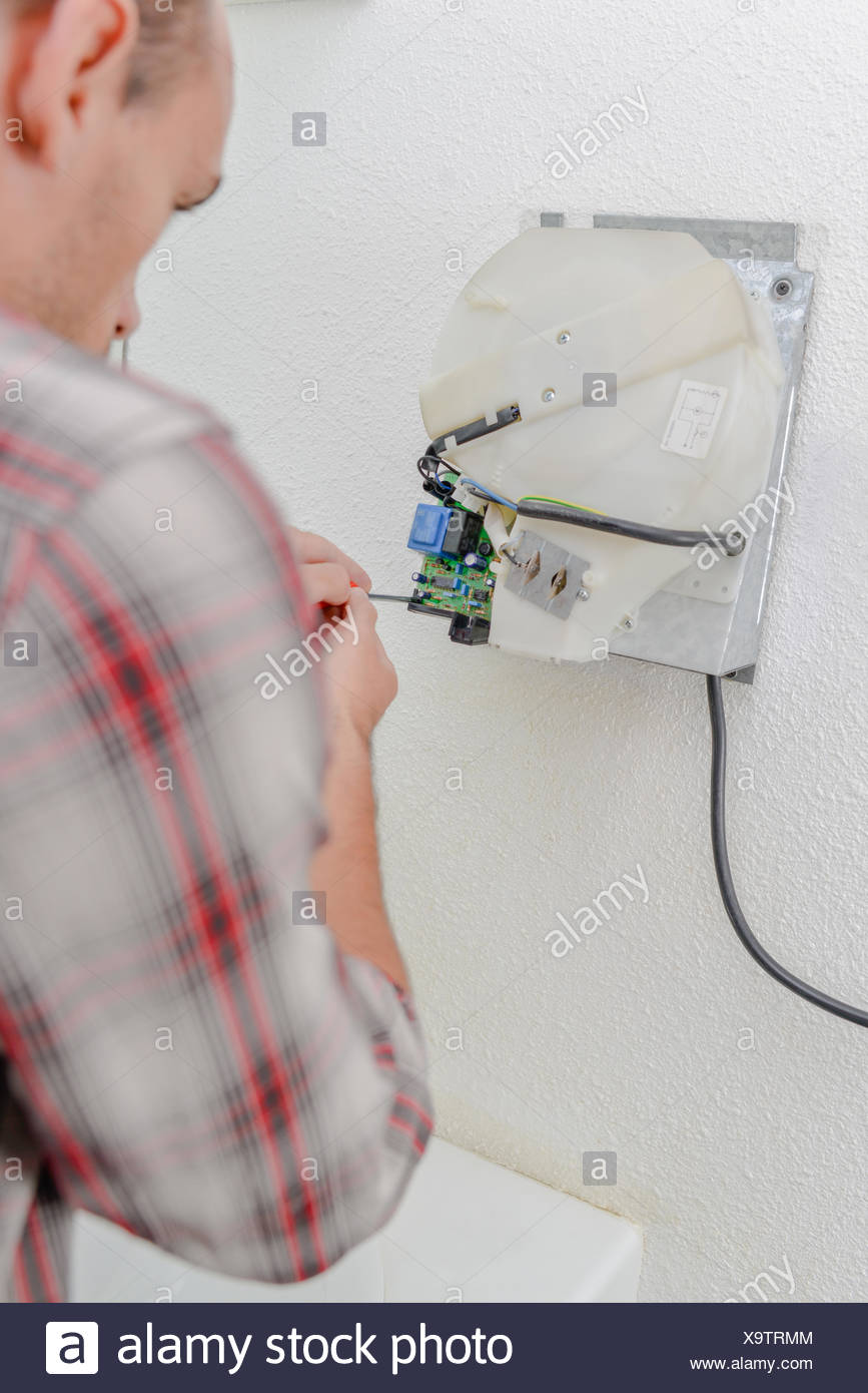 Hand Dryer Circuit Board Stock Photos Wiring Trying To Fix A Image