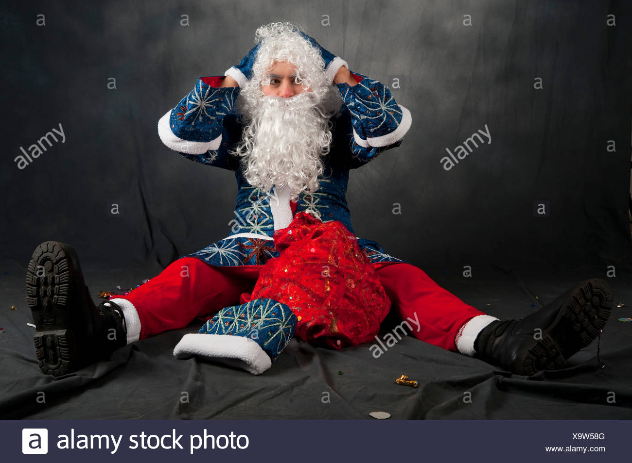 Russian christmas stock photos russian christmas stock images alamy the russian version of father christmas known as ded moroz literally grandfather frost kristyandbryce Choice Image