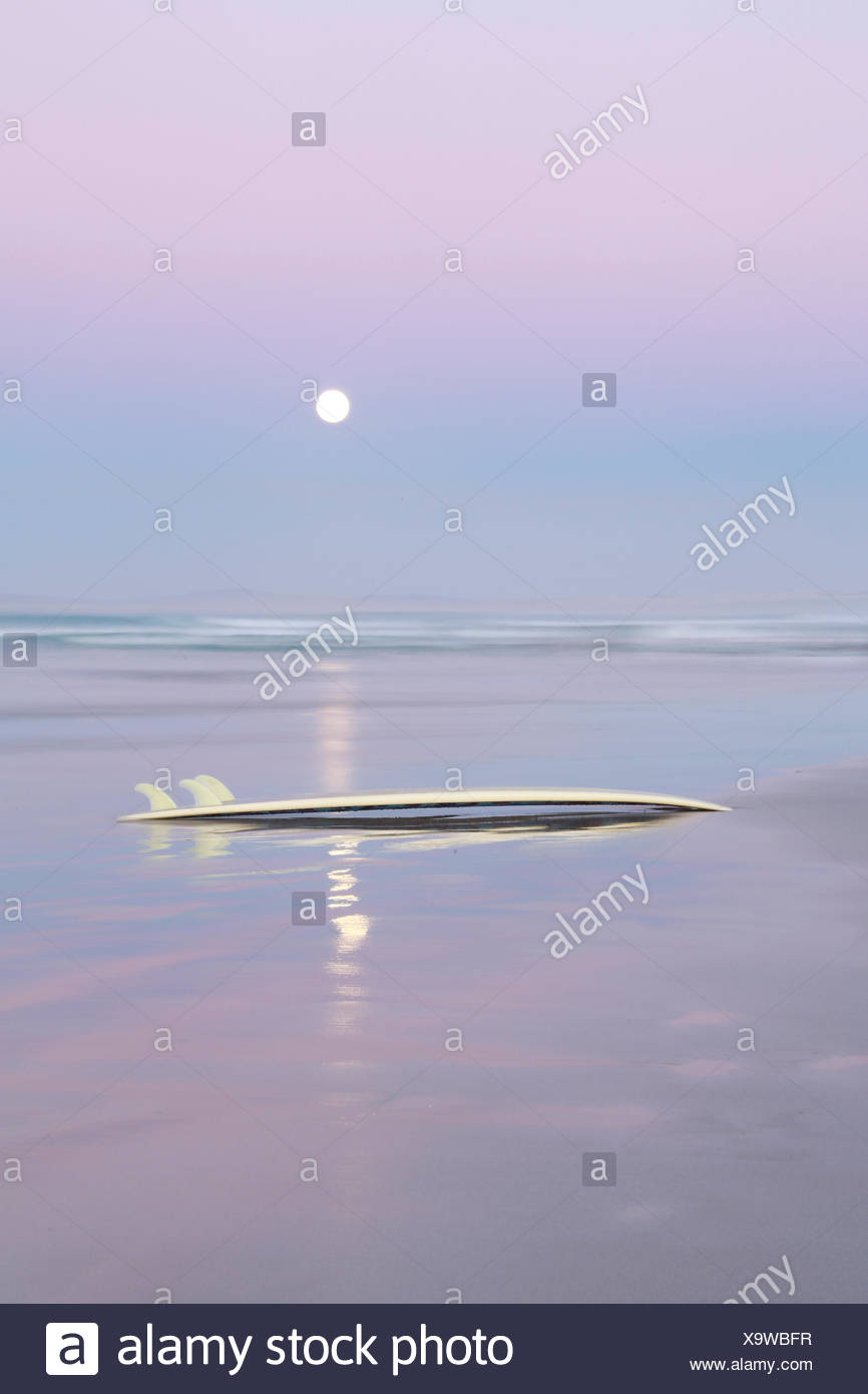 Australia, Sun over water horizon Stock Photo