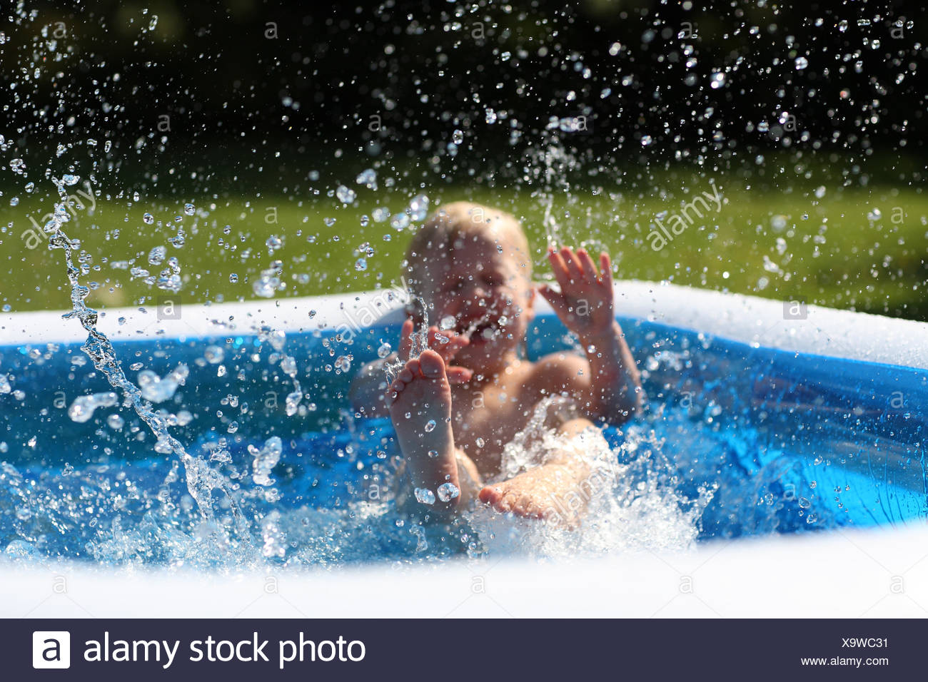 summer summerly squirt - Stock Image