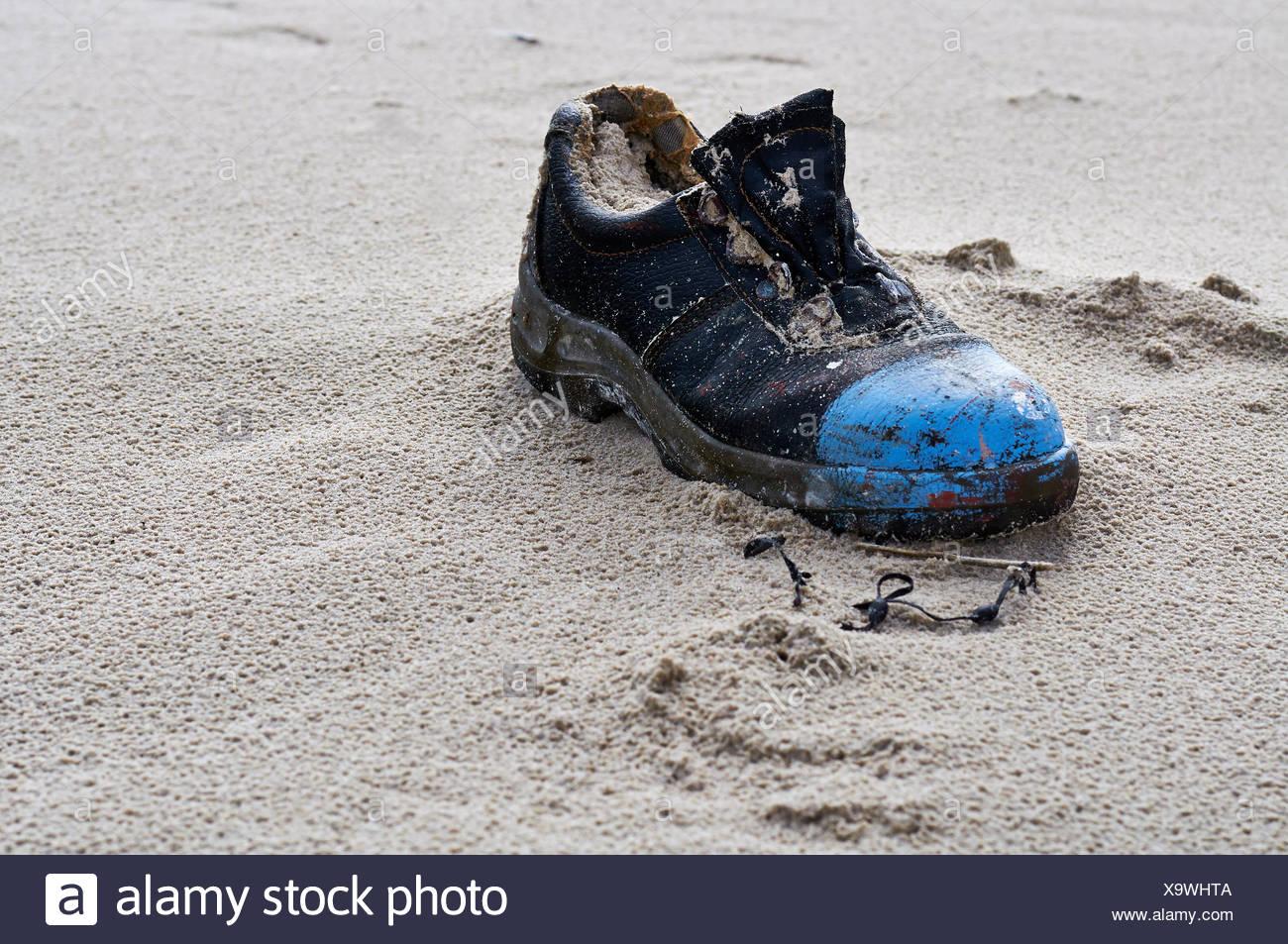 Flotsam: Loafer Stock Photo