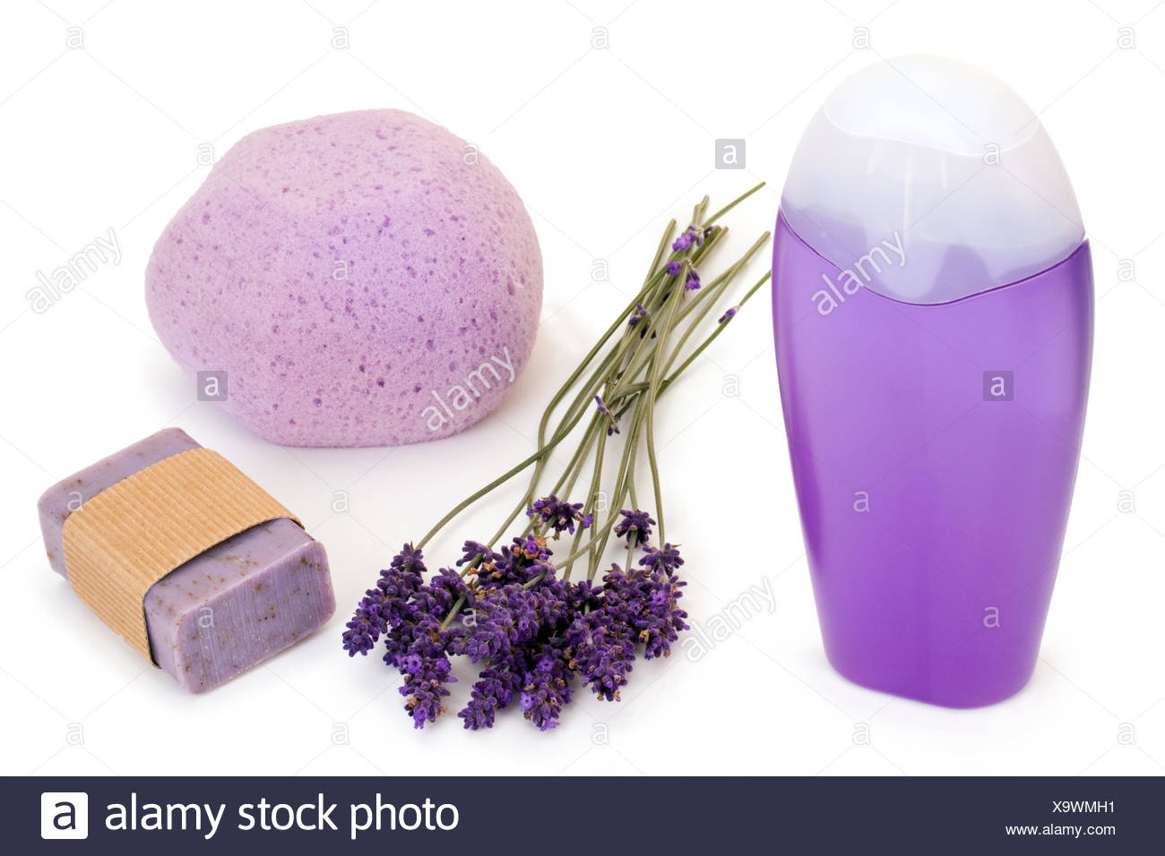 Lavender products - Stock Image