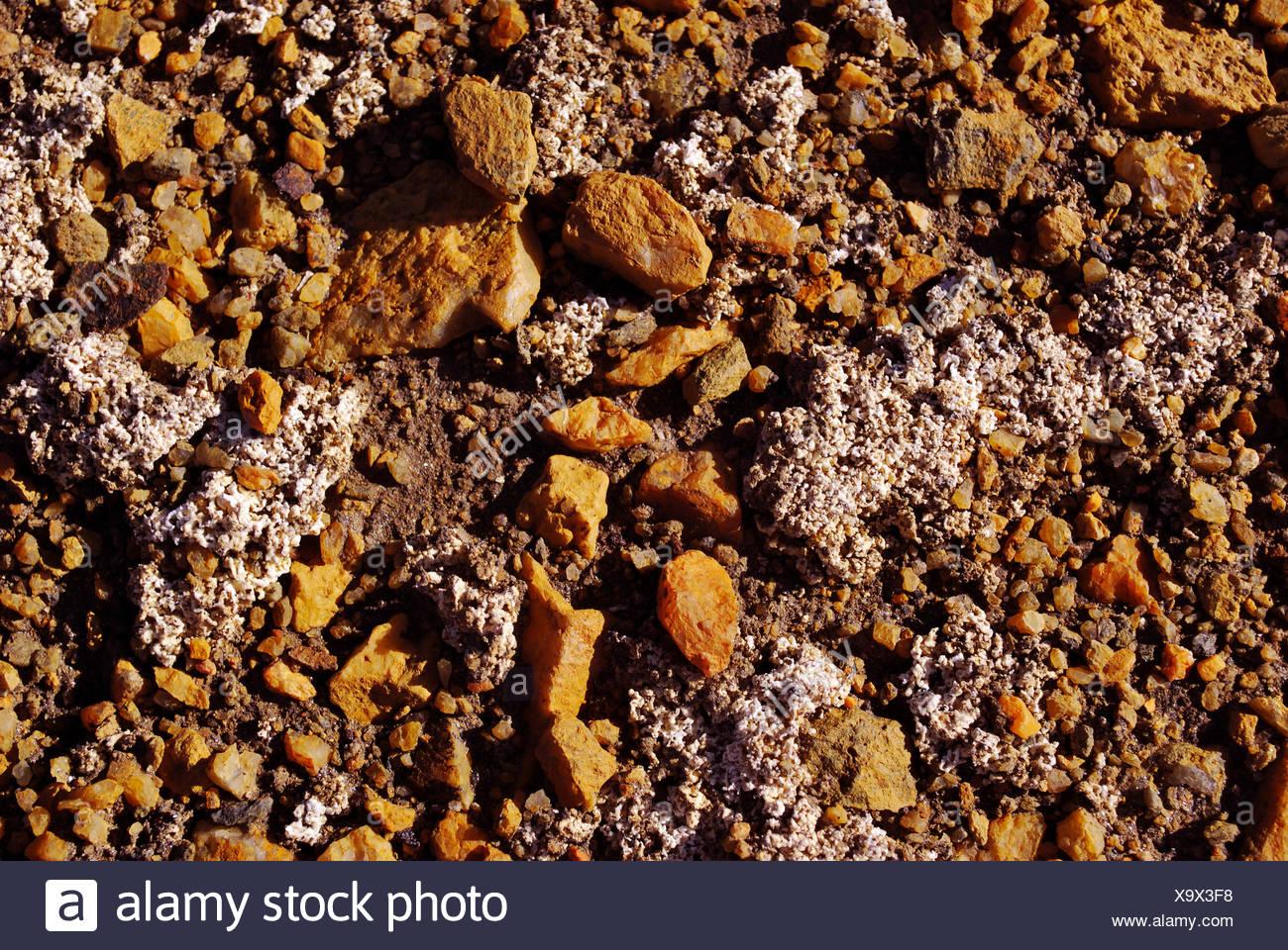Desert Island, Sulphur - Stock Image