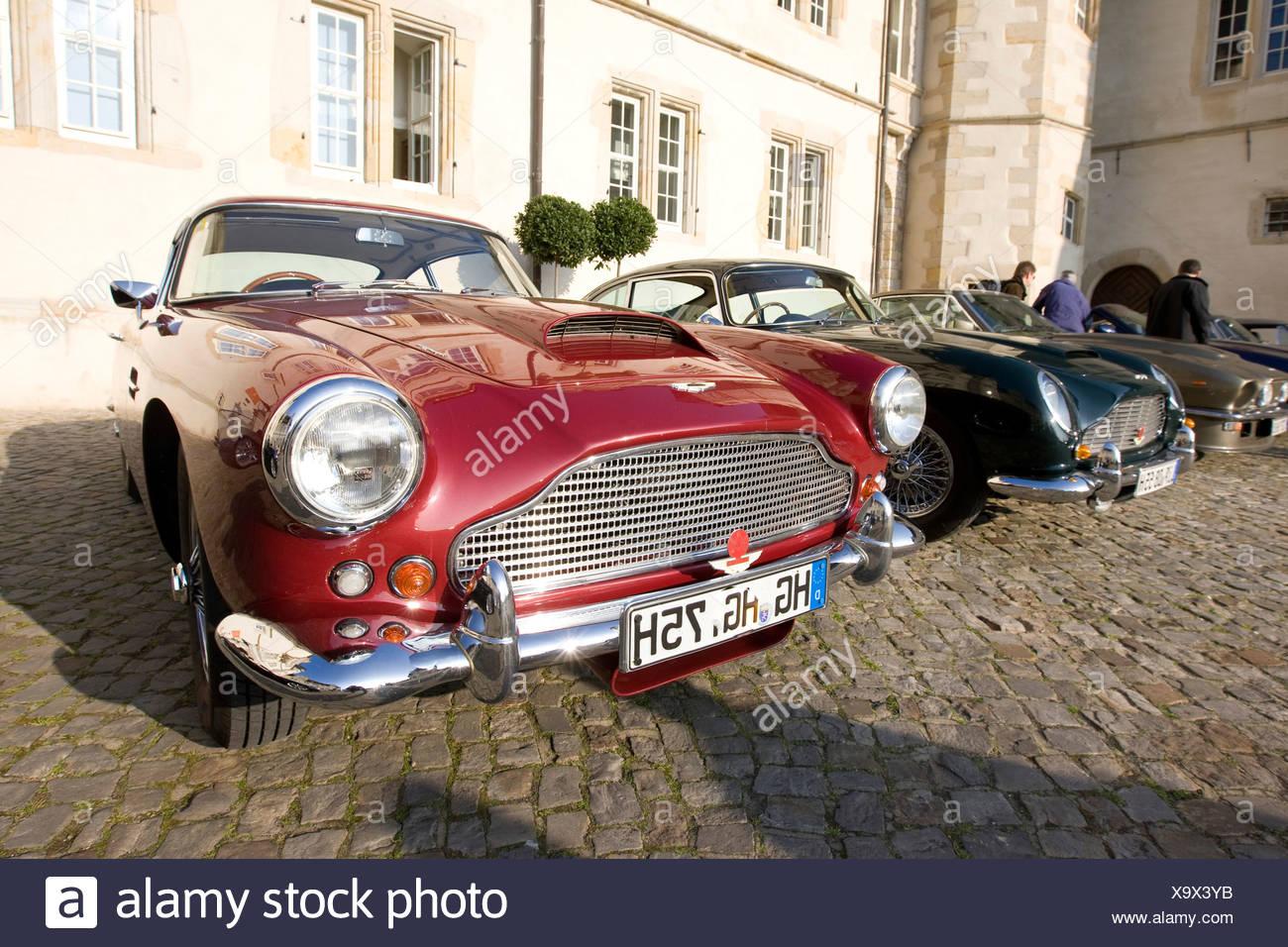 Aston Martin DB Mark III, Aston Martin Meet, Lower Saxony, Germany, Europe - Stock Image