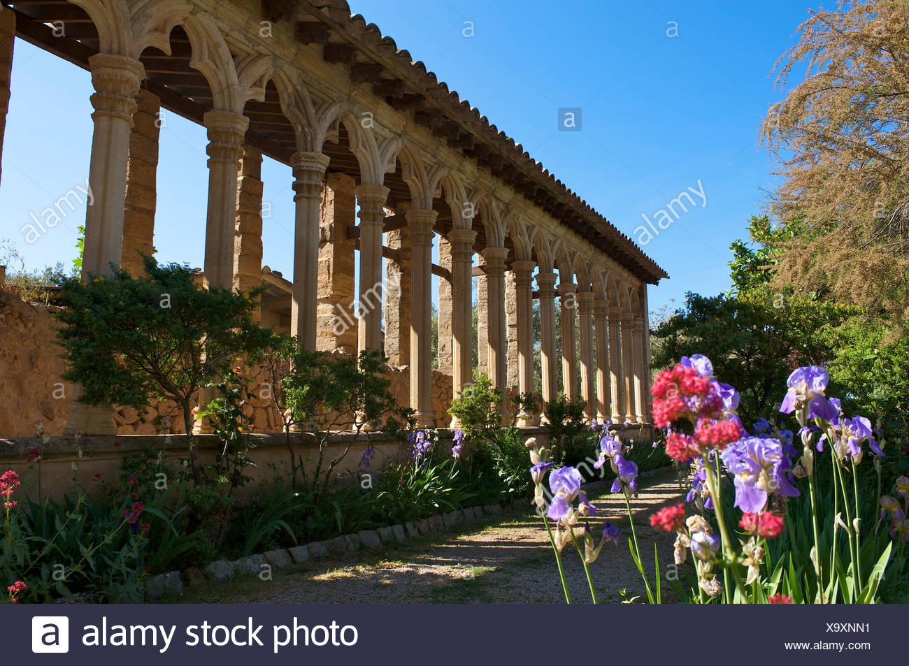 Miramar estate near Valldemossa, Valldemosa, Mallorca, Majorca, Balearic Islands, Spain, Europe Stock Photo