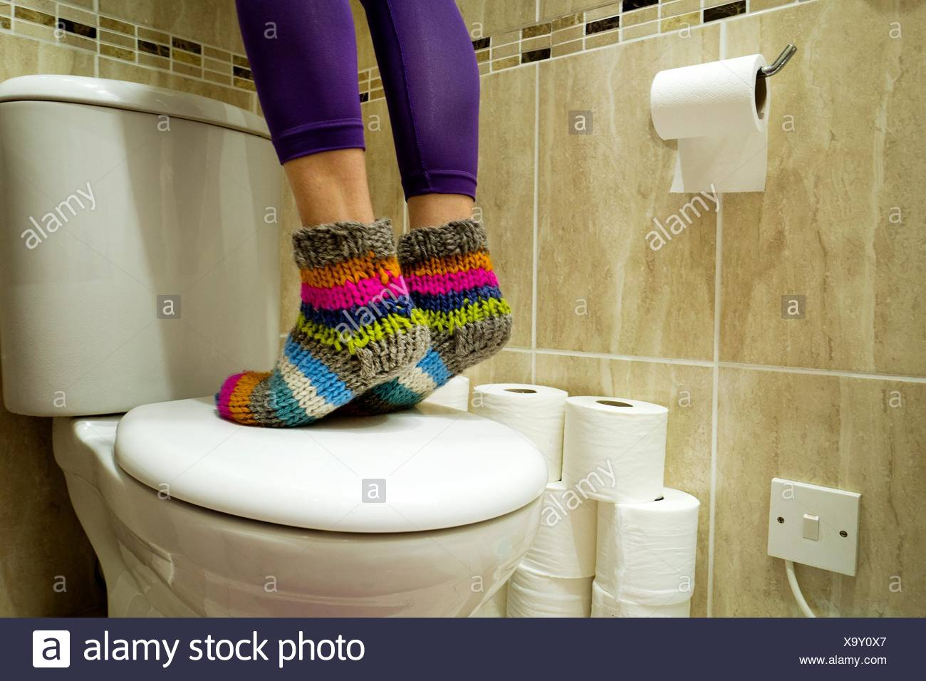 Astonishing Feet Of A Woman With Brightly Colored Socks Standing On A Creativecarmelina Interior Chair Design Creativecarmelinacom