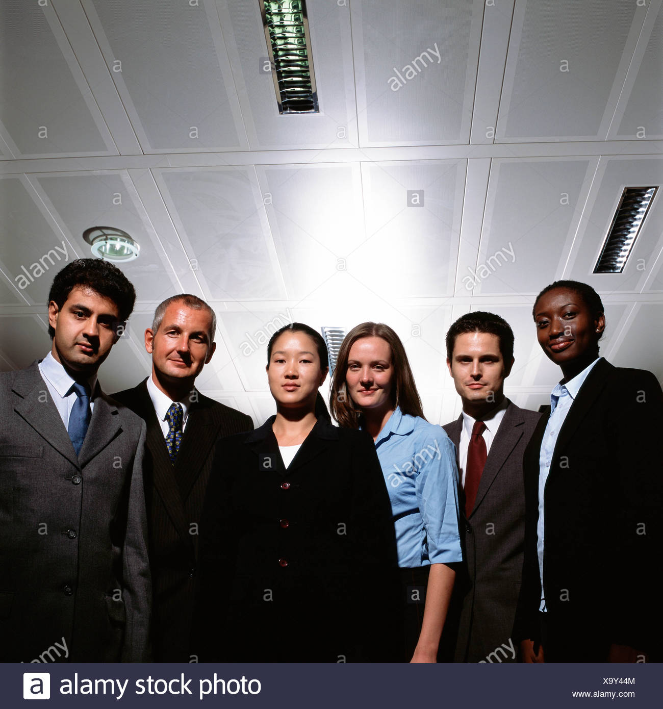 Staff members - Stock Image
