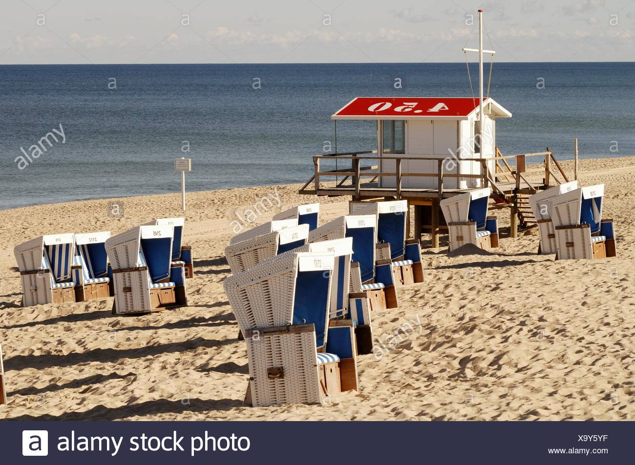 lifeguard house westerland sylt germany stock photos lifeguard house westerland sylt germany. Black Bedroom Furniture Sets. Home Design Ideas