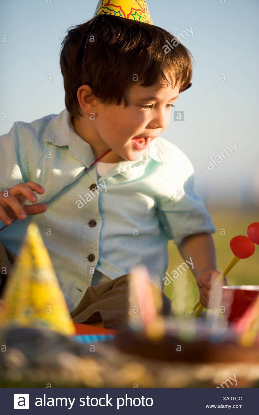Birthday boy - Stock Image