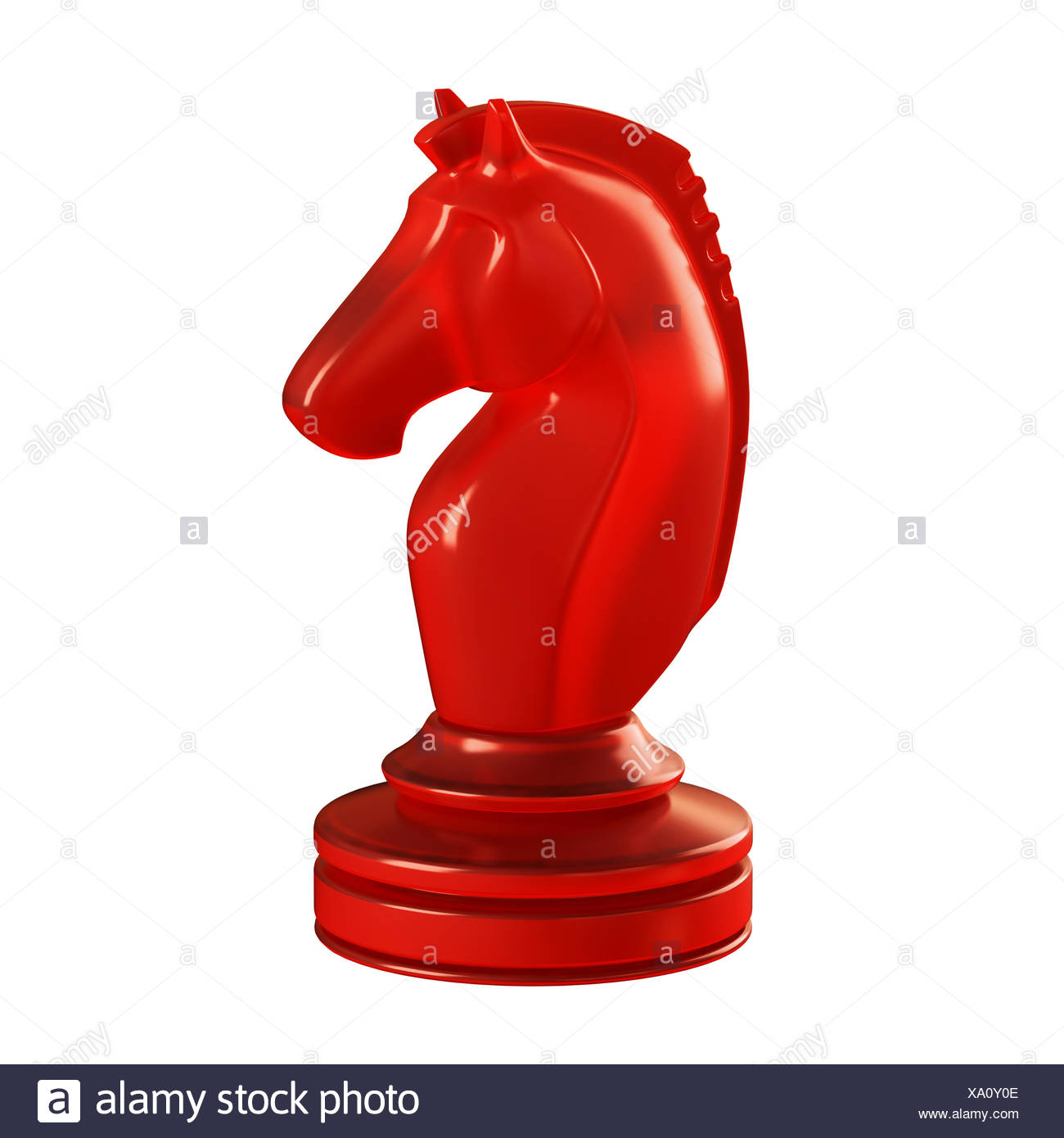 Knight Chess Piece Illustration Stock Photo Alamy