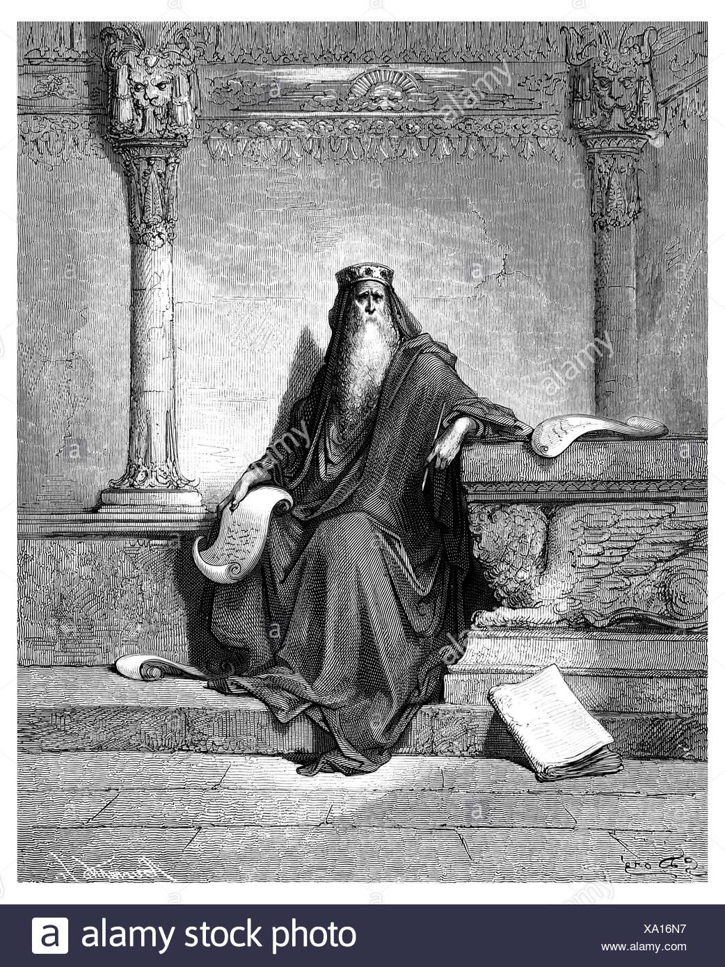 Solomon the Wise - Stock Image