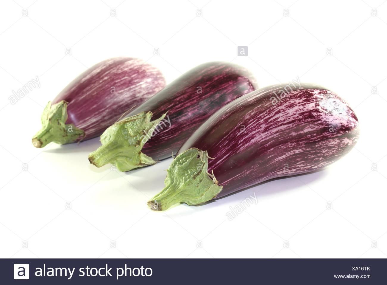 eggplant - Stock Image