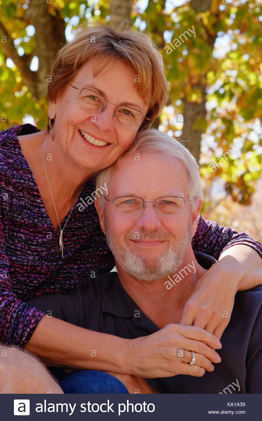 Military Mature Couple