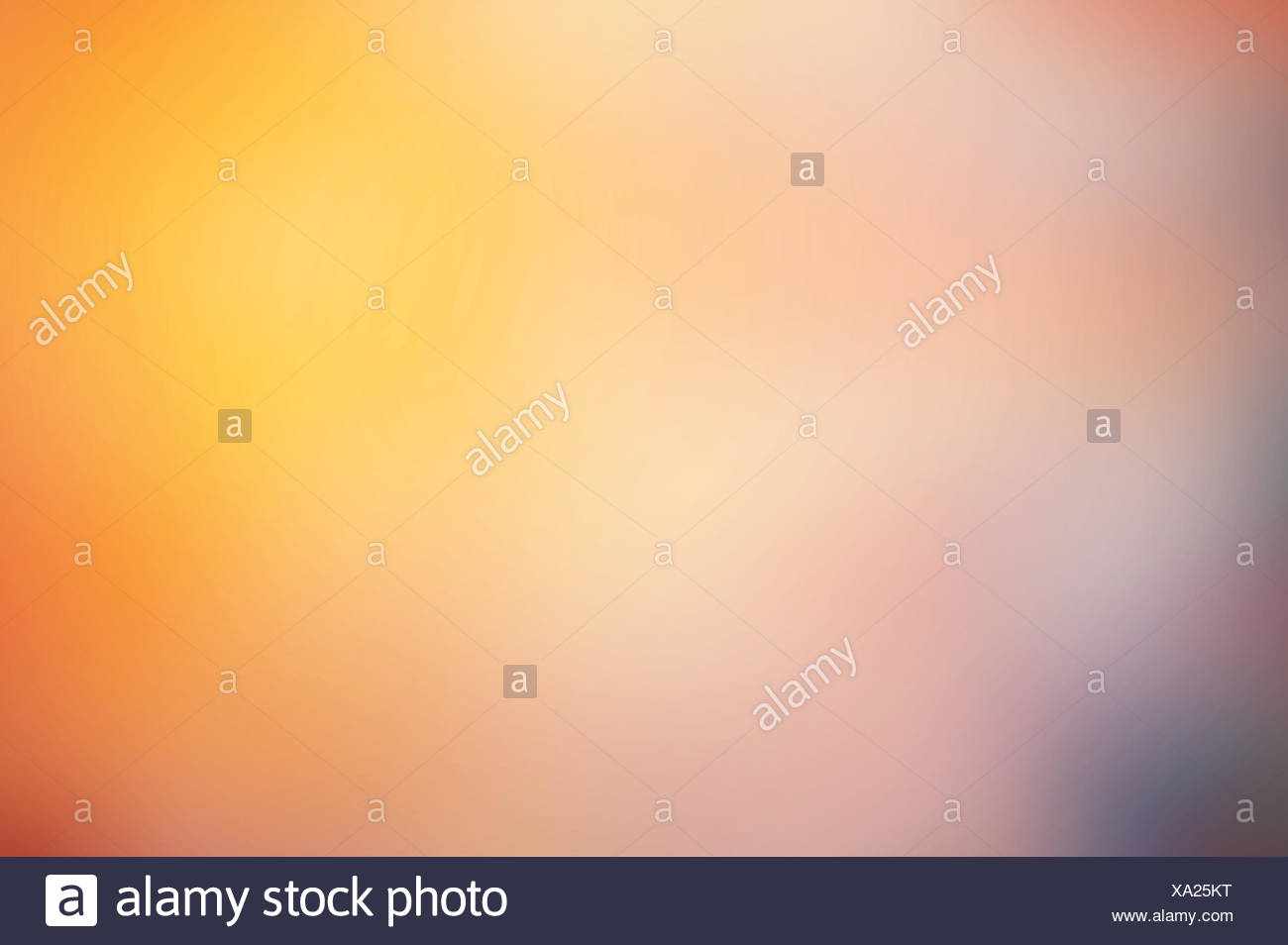 Colorful multi colored de-focused abstract photo - Stock Image