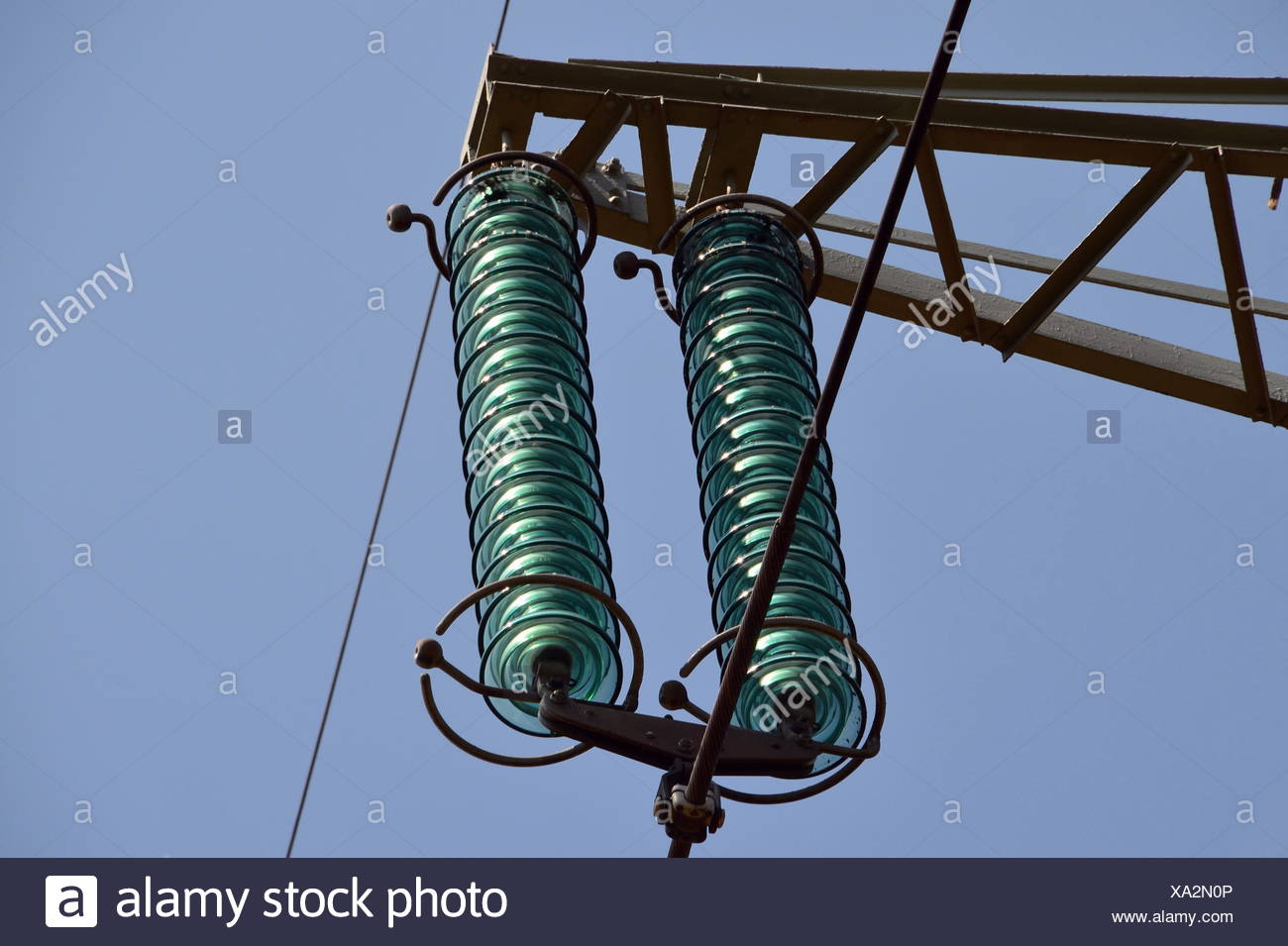 electricity - Stock Image
