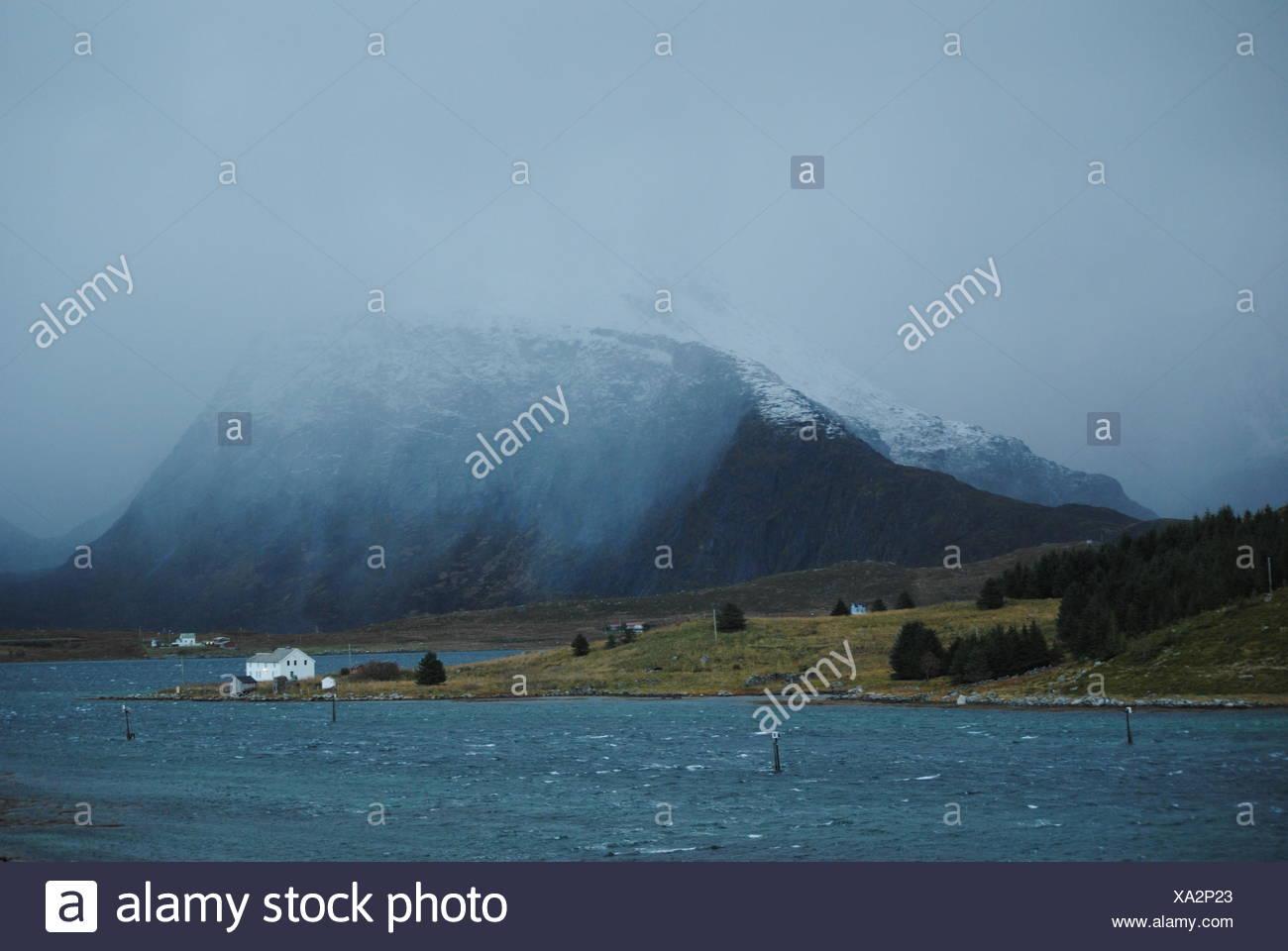 Dr├╕mmehuset i Lofoten Stock Photo