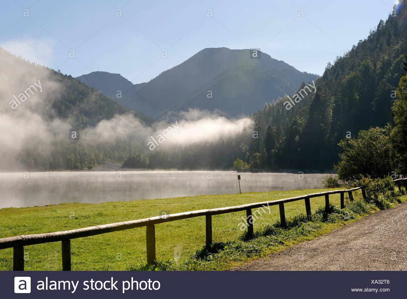 Plansee, Tyrol, Austria, Europe Stock Photo