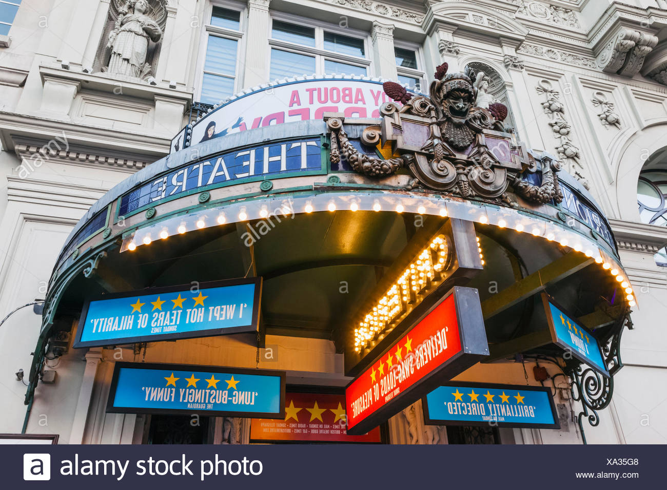 England, London, The West End, Criterion Theatre - Stock Image